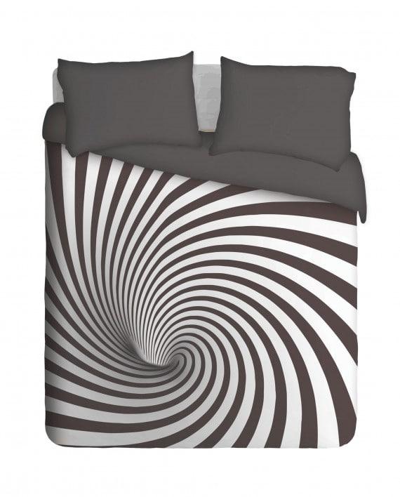 ARTB001 Black and White Spiral Tunnel