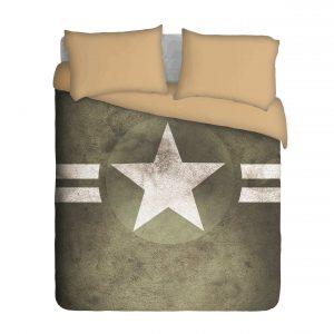 Army Star Duvet Cover Set