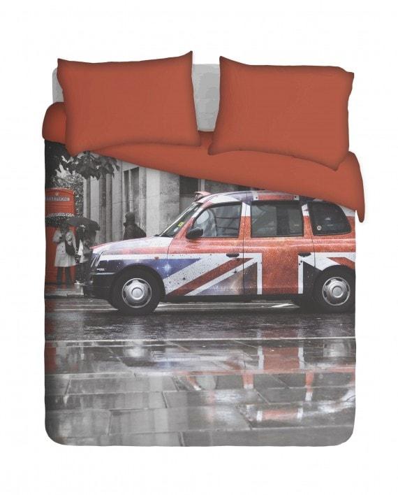 London Taxi Duvet Cover Set