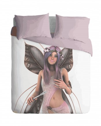 Fairy Flair Duvet Cover Set