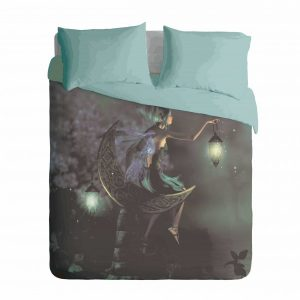 Night Pixie Fairy Duvet Cover Set