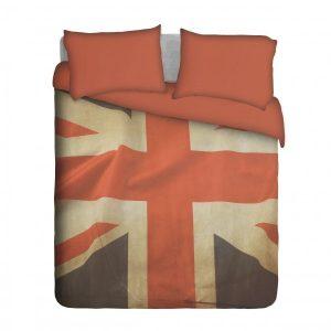 Grunge UK Flag Duvet Cover Set
