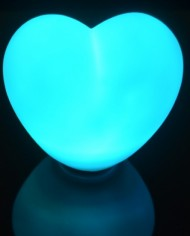 Heart Shaped floating orb