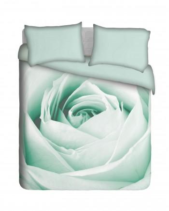 NRB001---Black-&-White-Rose-teal-bed