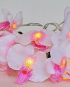 White Orchid String Lights