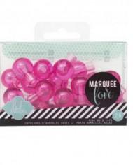 Pink Bulb caps