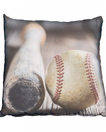SBC019 Baseball Bat & Ball cushion