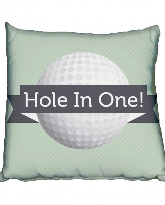 Hole in One Scatter Cushion