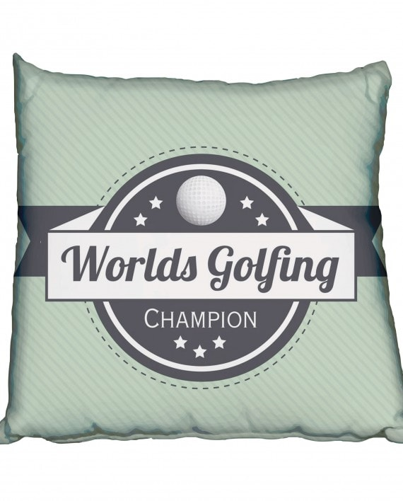 Worlds Greatest Golfer Scatter Cushion