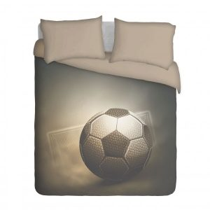 Soccer Ball and Goal Duvet Cover Set