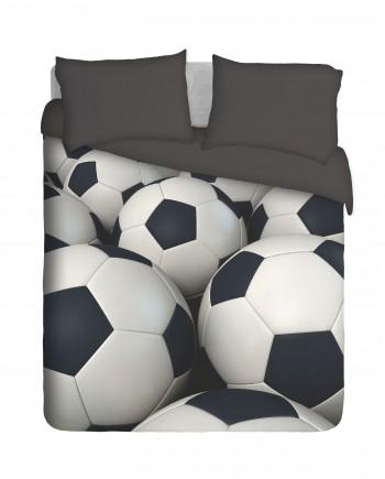 3D Soccer Balls Duvet Cover Set