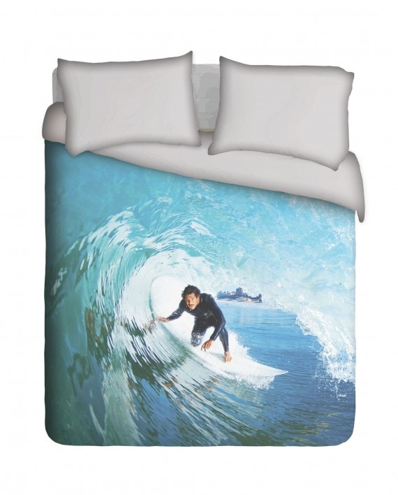 Surfer Dude Duvet Cover Set
