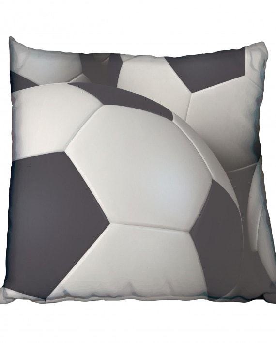 3D Soccer Balls Scatter Cushion