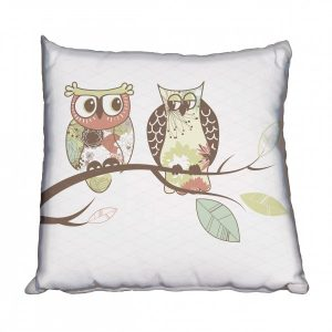 Owls Hanging Out Scatter Cushion