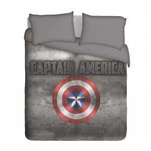 Captain America Duvet Cover Set