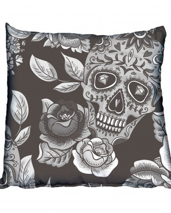 Sugar Skull Scatter Cushion
