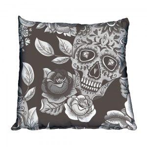 Sugar Skull Scatter Cushion
