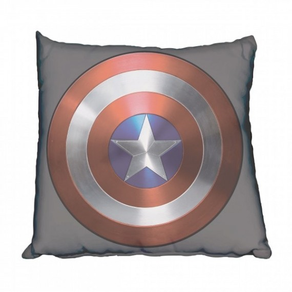 Captain America Classic Shield Scatter Cushion
