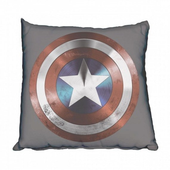 Captain America Shield Scatter Cushion