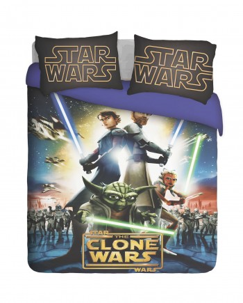Star Wars, The Clone Wars Duvet Cover Set