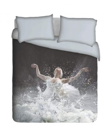 Ballet Dancer in Water Duvet Cover Set