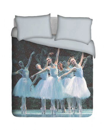 Gracious Ballet Dancers, Duvet Cover, by Imaginate Decor
