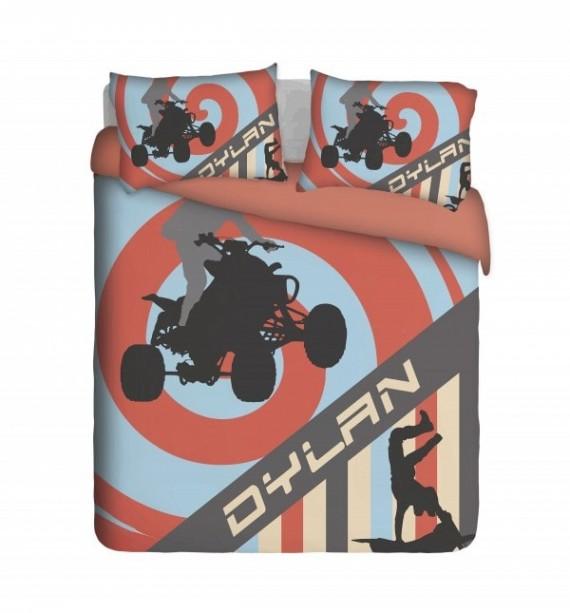 Quad Biker Duvet Cover Set