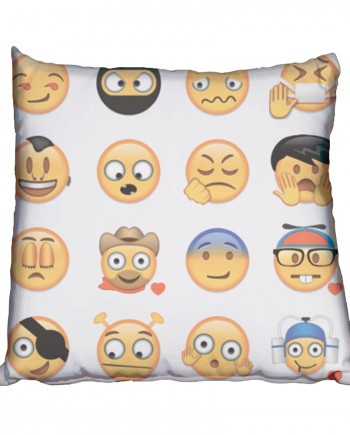 A little crazy Emoji Scatter Cushion