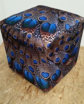 Peacock Ottoman 3