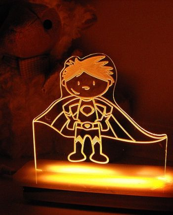 Super Powers Superhero Night Light