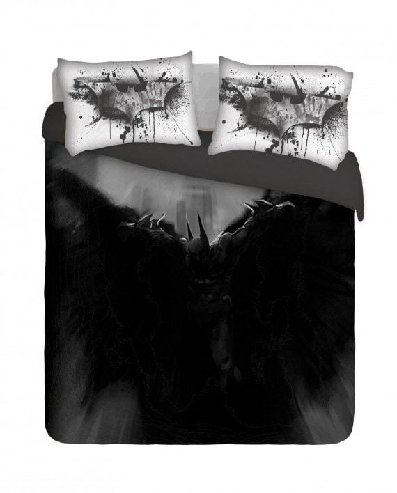 Abstract Batman Duvet Cover Set