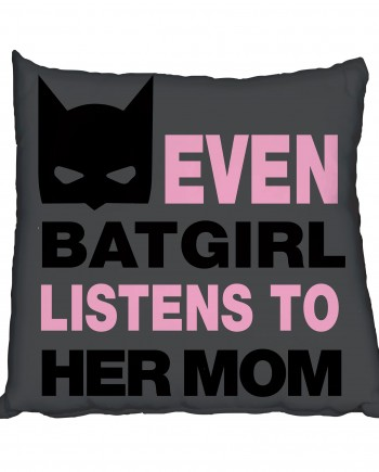 Girlie Batman Scatter Cushion
