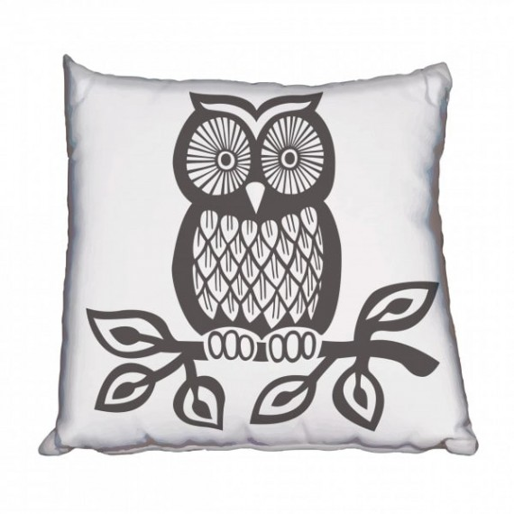 Funky Owl Scatter Cushion