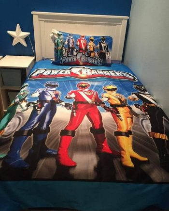 Power Rangers Duvet Cover Set