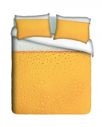 eat, sleep, drink beer duvet cover set