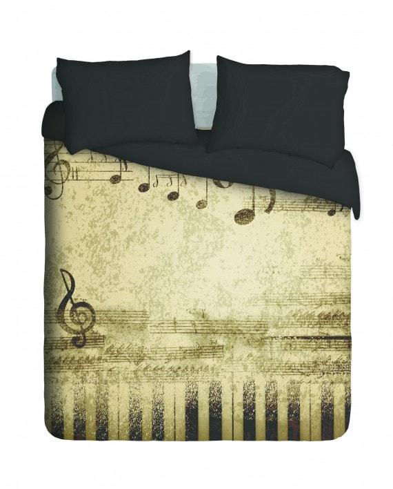 Music Notes Duvet Cover Set