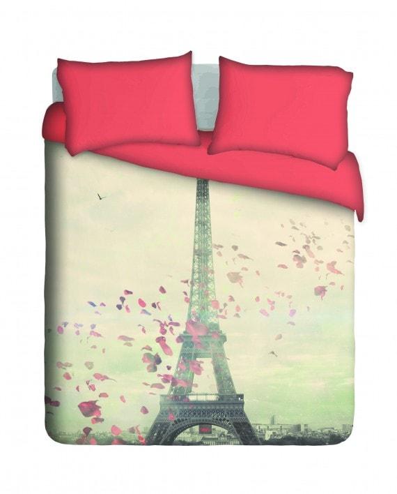 Romantic Paris Duvet Cover Set