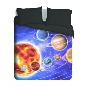 Planets in Space Duvet Cover Set
