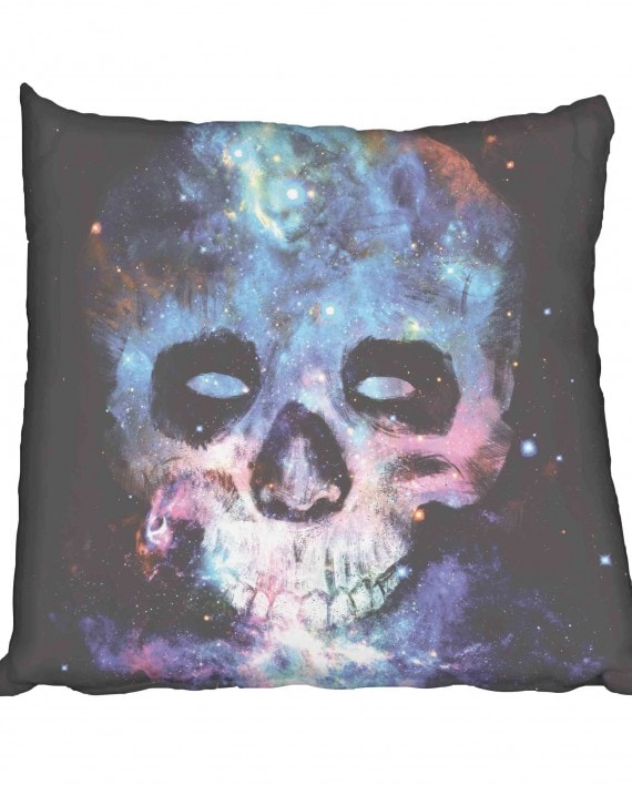Skull Galaxy Scatter Cushion
