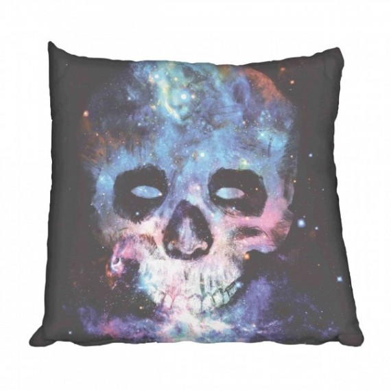 Skull Galaxy Scatter Cushion