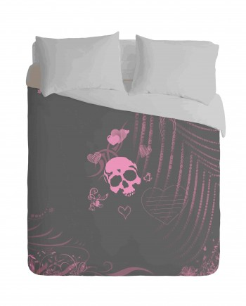 Skull Love Duvet Cover Set
