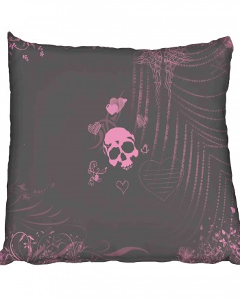 Skull Love Scatter Cushion