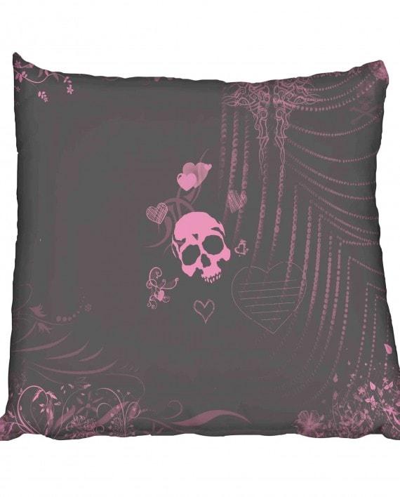 Skull Love Scatter Cushion