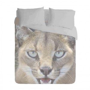 African Wild Cat Duvet