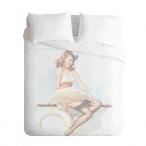 Hey Girl Duvet Cover Set