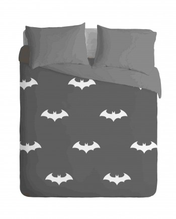batman bats Dark tones Duvet cover set