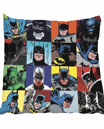 Batman Comic Art Scatter Cushion