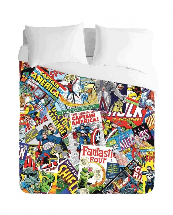 Comic Books Duvet Cover Set