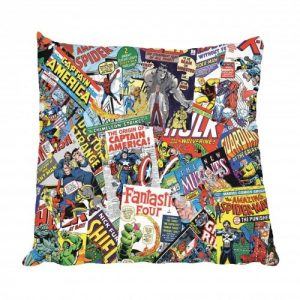 Comic Books Scatter Cushion