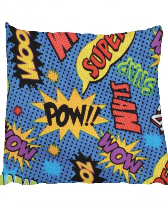 Comic Pow Wow Scatter
